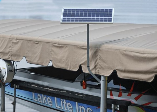 Boat Lift Solar Charger