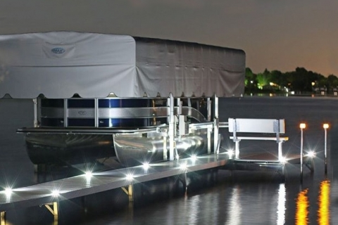 Illuminate Your Aluminum Dock