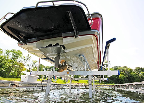 Shoremaster Hydraulic Boat Lift