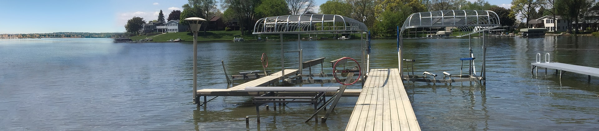 Boat Lift Installation