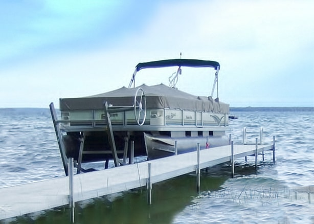 Craftlander Cantilever Pontoon Lift